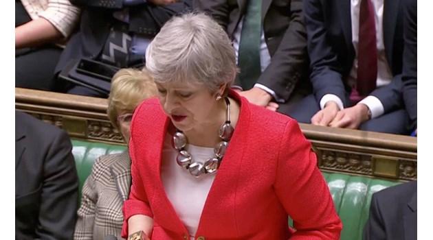 Британският парламент отхвърли Брекзит (Снимки, видео)