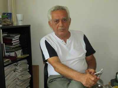 Михаил Коцев разказва за дългогодишната драма с ипотеката на жилището си. СНИМКА: Дима Максимова