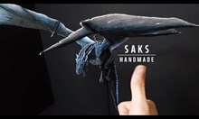 Изработване на леден дракон с 3Д писалка
