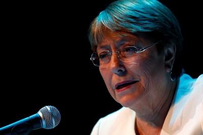 Върховният комисар на ООН за правата на човека Мишел Бачелет СНИМКА: Ройтерс