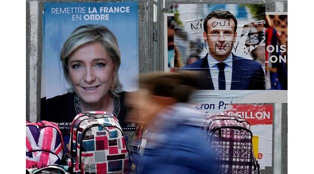 Заподозряха хакери на ГРУ за MacronLeaks