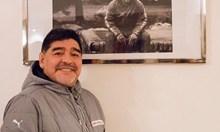 Марадона празнува първа победа с танц (Видео)