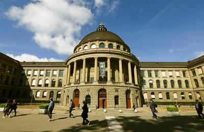 Сградата на Политехниката в Цюрих, част от която е Environmental Chemistry Group. СНИМКА: РОЙТЕРС