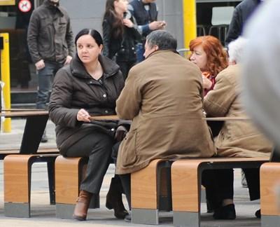 Емилия Ковачева преди едно от заседанията. След присъдата тя е под домашен арест.