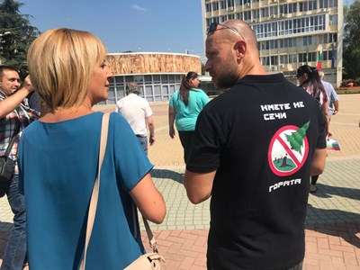 Общественият защитник се срещна днес с граждани в Димитровград. Снимки пресцентър на омбудсмана