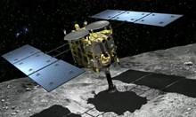 """Сондата """"Хаябуса 2"""" кацна на астероида Рюгу и взе проби от повърхността му (Видео)"""