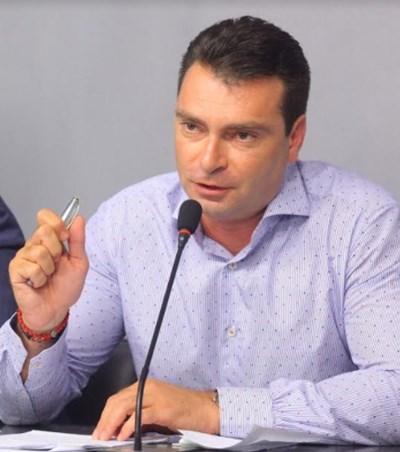 Лидерът на БСП – София и председател на групата на социалистите Калоян Паргов СНИМКА: БСП-София