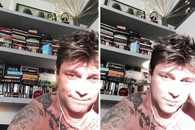 Миро публикува кадър във фейсбук, след като обръсна брадата си.