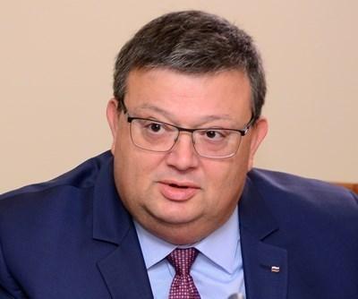 Сотир Цацаров СНИМКА: Архив