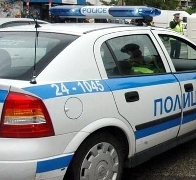 Засилено е полицейското присъствие в селищата в област Хасково, в които има положително реагирали на COVID-19, поставени под домашна карантина. СНИМКА: Архив