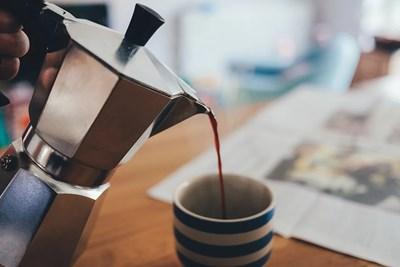 Чаша силно кафе половин час преди треноривка топи мазнините Снимка: Пиксабей