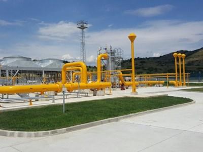 """С модернизацията на компресорна станция """"Петрич"""" се осигури възможност за доставки на газ от Гърция."""