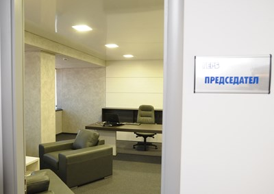Кабинетът на Бойко Борисов в централата на ГЕРБ.