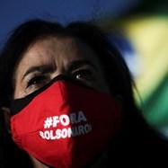 Протест срещу президента на Бразилия Джаир Болсонаро