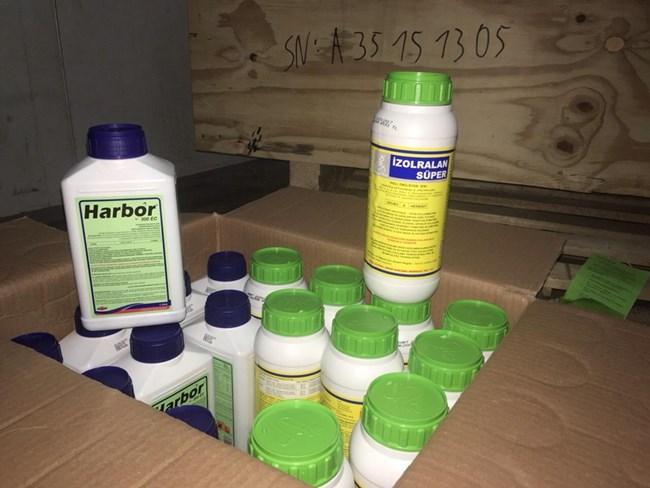 2c9dd936e65 Срещу нарушителите са съставени актове по Закона за митниците. Пестицидите  са иззети и ще бъдат унищожени.
