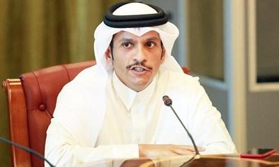 Катарският външен министър шейх Мохамед бин Абдулрахман Ал Тани Снимка: Ройтерс