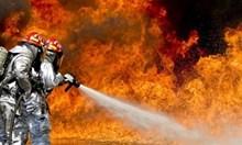 Десетки автомобили горят в хасковска автоморга