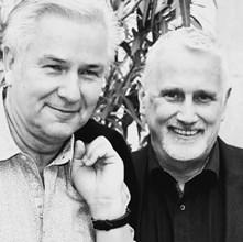 Клаус Воверайт и Йорн Кубицки.Сн. Twitter / Фондация Хиршфелд
