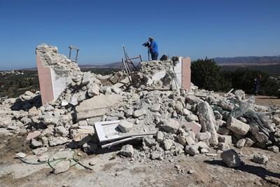 Силни вторични трусове регистрираха на остров Крит след земетресението от тази сутрин. СНИМКА: РОЙТЕРС