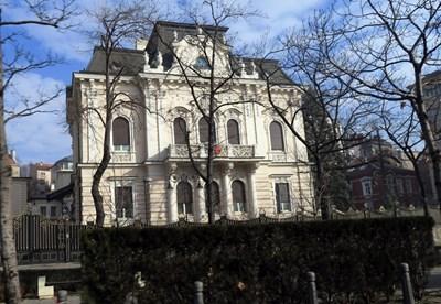 Сърмаджиевата къща днес е резиденция на турския посланик