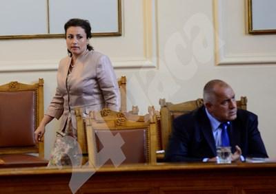 Десислава Танева е предложена за министър на земеделието от премиера Бойко Борисков. Тя бе на този пост и във второто правителството на Борисво, бе номинирана и в първото, но той предпочете друг да заеме поста тогава. СНИМКА: 24 часа