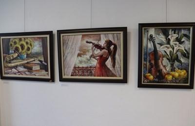 Изложбата в Русе Снимки: АВТОРЪТ