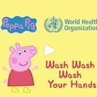 СЗО с кампания за миене на ръце с участието на прасето Пепа (Видео)