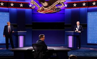 Доналд Тръмп и Джо Байдън СНИМКИ: Ройтерс