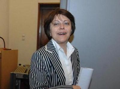 Татяна Дончева от БСП също попадна под прицела на филолозите. СНИМКА: РУМЯНА ТОНЕВА