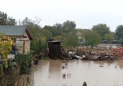 Камено по време на наводнението през 2017 г. СНИМКА: Архив