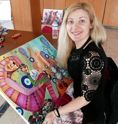 Лъчезарната Лора с радост се впускаше в различни благотворителни кампании. Сники:фейсбук