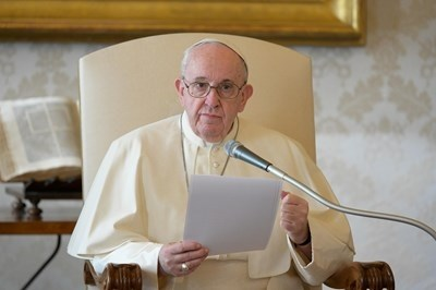 Китайското външно министерство днес отхвърли критиките на папа Франциск за отношението към мюсюлманите уйгури като безпочвени СНИМКА: Ройтерс