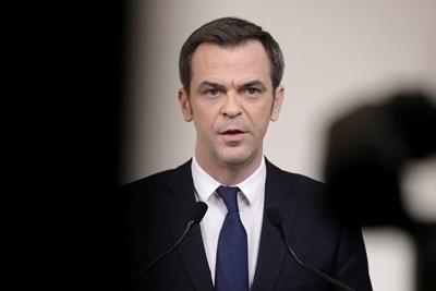 Френският здравен министър Оливие Веран СНИМКА: Ройтерс