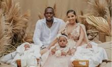 Юсеин Болт с близнаци, кръсти ги Гръмотевица и Свети Лео