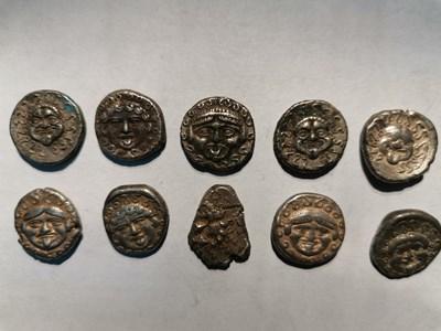 Откритите антични монети