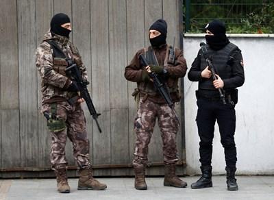 Осем терористи, които са планирали атентати, са били задържани от силите за сигурност в Турция. Снимка: Ройтерс, Архив