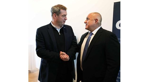 Премиерът на Бавария: Всички премиери в Европа се сменят, остава само един - Борисов