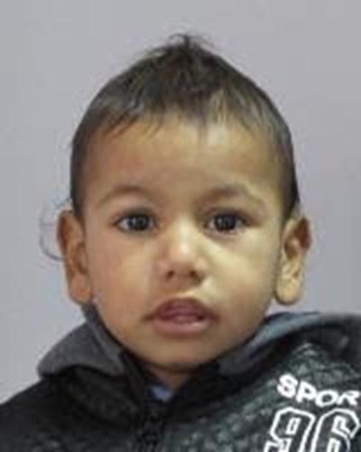 2-годишният Михаил Чиков СНИМКА: МВР