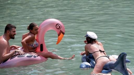 Горещата вълна тормози Западните Балкани, живакът мина 40 градуса