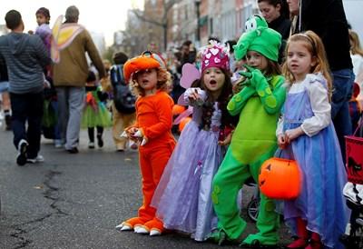 Хелоуин е забава за децата