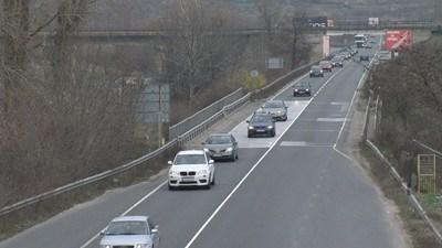 Вижте състоянието на пътищата в страната в момента