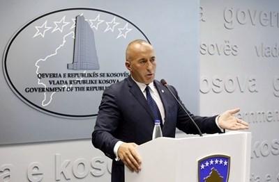 Премиерът на Косово в оставка Рамуш Харадинай  СНИМКА: Ройтерс