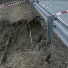 Дупка на пътя за Банско Кадър: Нова тв