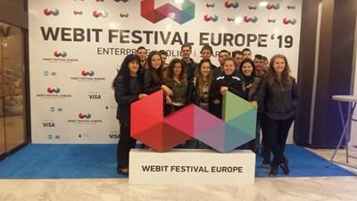 Ученици от Банско посетиха уникалния фестивал в София.