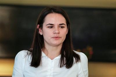 Светлана Тихановска СНИМКА: РОЙТЕРС