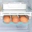 Яйцата ниско долу в хладилника