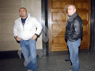 Братя Галеви в съда СНИМКА: 24 часа
