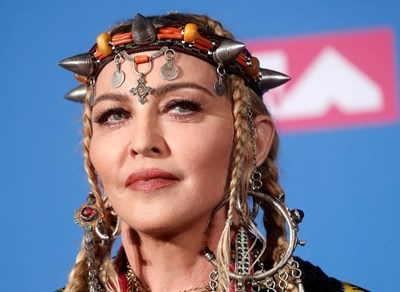 Madonna at MTV Video Music Awards PHOTO: ROYTERS