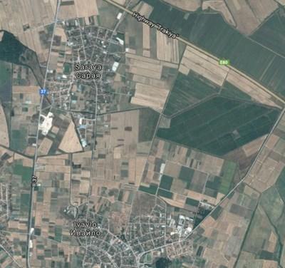 Пътят между Ивайло и Сарая СНИМКА: Google Maps