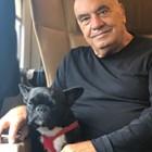 Фуксас с кучето си  СНИМКИ: ФЕЙСБУК И ИНСТАГРАМ